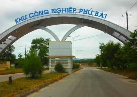 KCN Phú Bài | Tư Vấn Phát Triển Khu Công Nghiệp