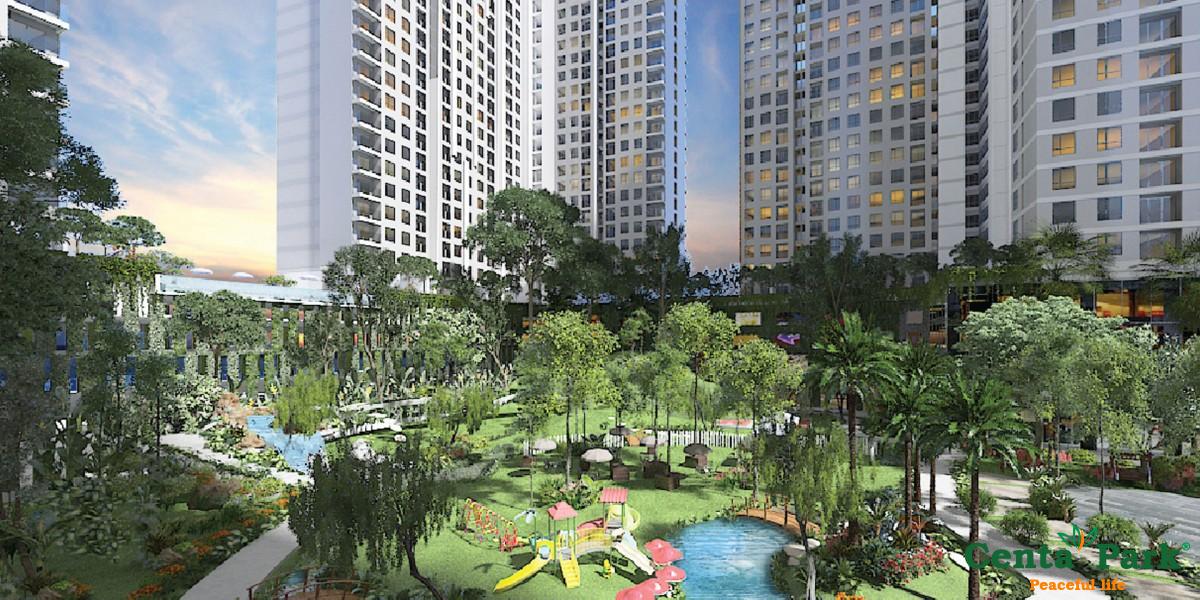 Khu Chung cư kết hợp Thương mại – Centa Park địa chỉ 678 Âu Cơ (Số cũ là 3218C Âu Cơ) phường 14, quận Tân Bình