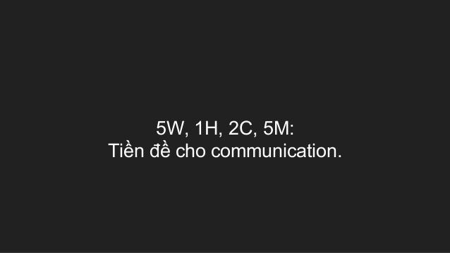 Kỹ năng lập kế hoạch để thành công theo 5W 1H 2C 5M