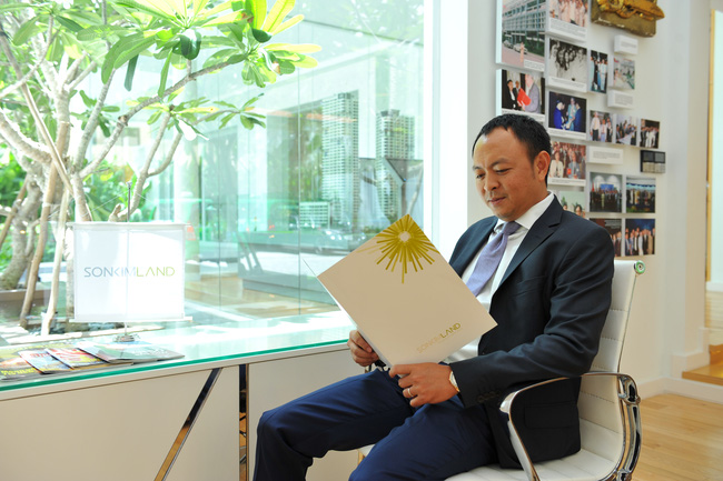 Sơn Kim Land | Doanh nhân Nguyễn Hoàng Tuấn trải lòng gian truân trong nghề làm địa ốc