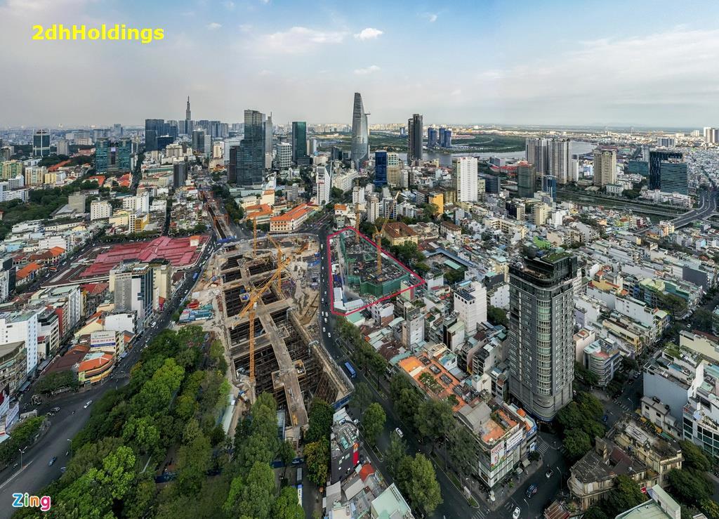 The Spirit of Saigon | Dự án tứ giác Bến Thành có vị trí đắc địa bậc nhất TP.HCM