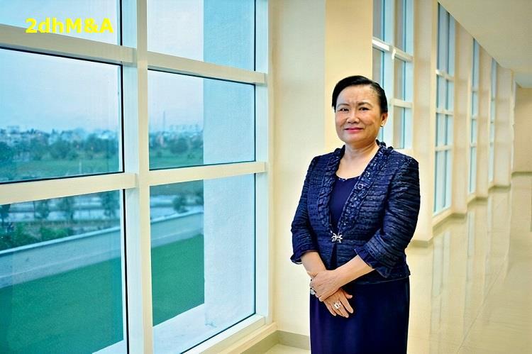 Tiêu Điểm Doanh Nhân   Trần Thị Lâm   Người phụ nữ quyền lực tập đoàn Hoa Lâm