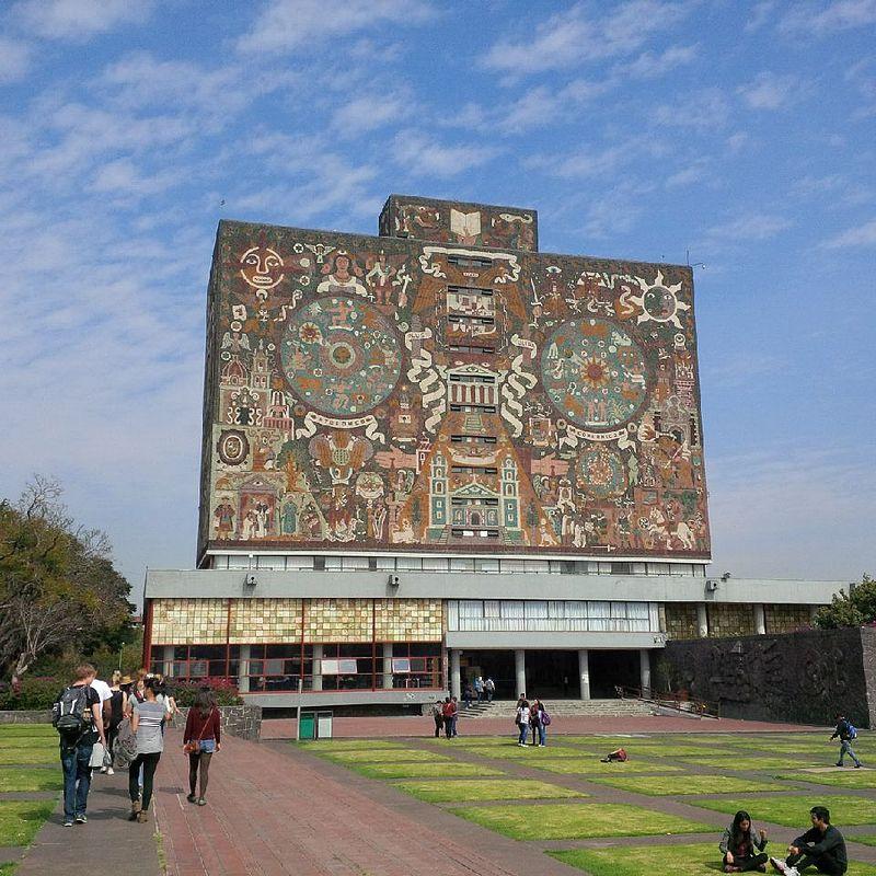 Trung tâm khu đô thị Đại Học của đại Học Tự Trí Quốc Gia Mexico