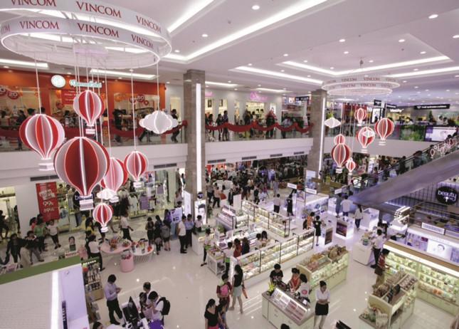 Trung tâm thương mại chuyển đổi để thích ứng với xu hướng mới