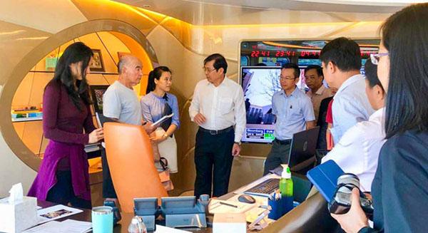 Tỷ phú Joe Lewis đề xuất ý tưởng xây bến du thuyền tại Đà Nẵng